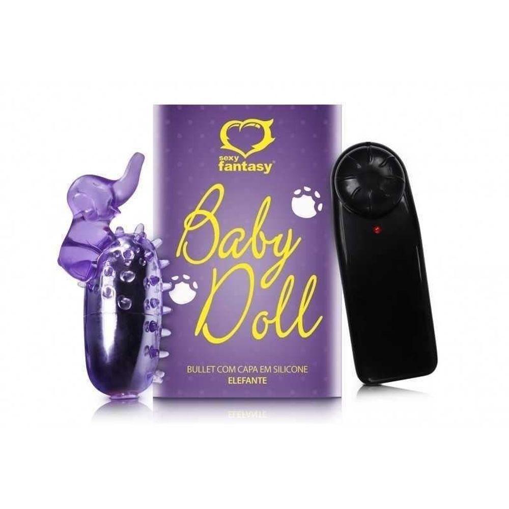 BULLET BABY DOLL COM CAPA ELEFANTE SEXY FANTASY