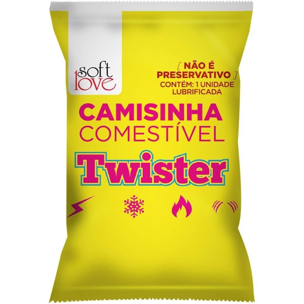 CAMISINHA TWISTER FUNCIONAL SOLÚVEL