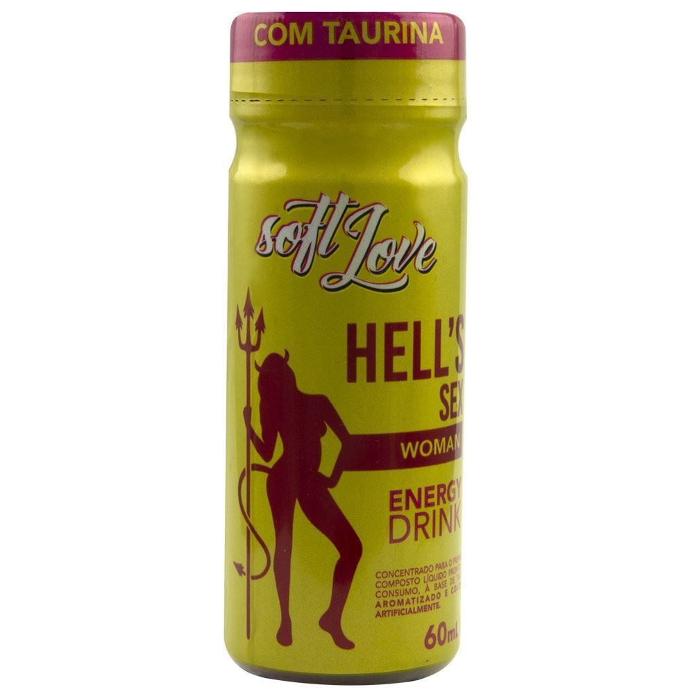 HELL'S SEX WOMAN ENERGETICO 60ML