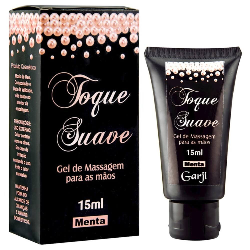 TOQUE SUAVE GEL MASTURBADOR 15ML