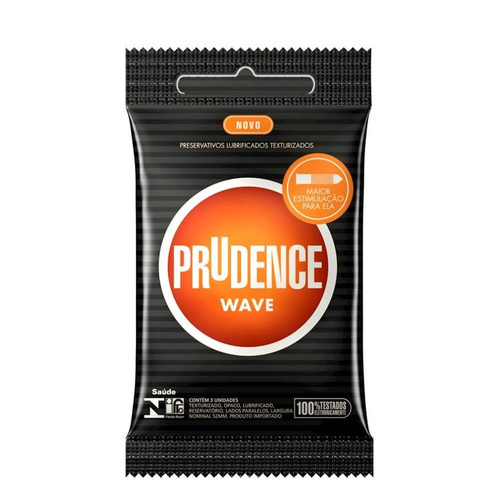 PRESERVATIVO WAVE COM 3 UNIDADES