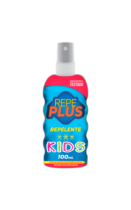 REPELENTE REPE PLUS KIDS SPRAY 100ML