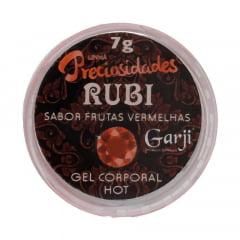 RUBI GEL LUBRIFICANTE BEIJÁVEL HOT 7G