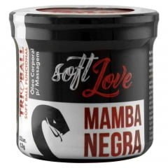SOFT BALL TRIBALL MAMBA NEGRA 3 UNIDADES SOFT LOVE