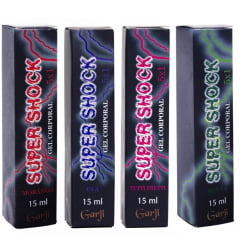 SUPER SHOCK EXCITANTE ELÉTRICO SPRAY UNISSEX 15ML GARJI