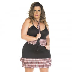 KIT FANTASIA PLUS SIZE PROFESSORA SEXY PIMENTA SEXY